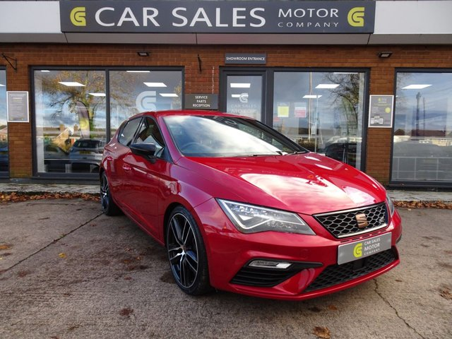 USED 2019 SEAT LEON 2.0 TSI Cupra 290 DSG (s/s) 5dr SAT NAV, VIRTUAL COCKPIT, BLUETOOTH, PARKING SENSORS, DSG GEARBOX, 290BHP HOT HATCH, JUST SERVICED BY SEAT, HPI CLEAR 2 REMOTE KEYS