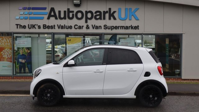 USED 2016 66 SMART FORFOUR 1.0 EDITION WHITE 5d 71 BHP . LOW DEPOSIT OR NO DEPOSIT FINANCE AVAILABLE . COMES USABILITY INSPECTED WITH 30 DAYS USABILITY WARRANTY + LOW COST 12 MONTHS USABILITY WARRANTY AVAILABLE FOR ONLY £199 (DETAILS ON REQUEST). ALWAYS DRIVING DOWN PRICES . BUY WITH CONFIDENCE . OVER 1000 GENUINE GREAT REVIEWS OVER ALL PLATFORMS FROM GOOD HONEST CUSTOMERS YOU CAN TRUST .