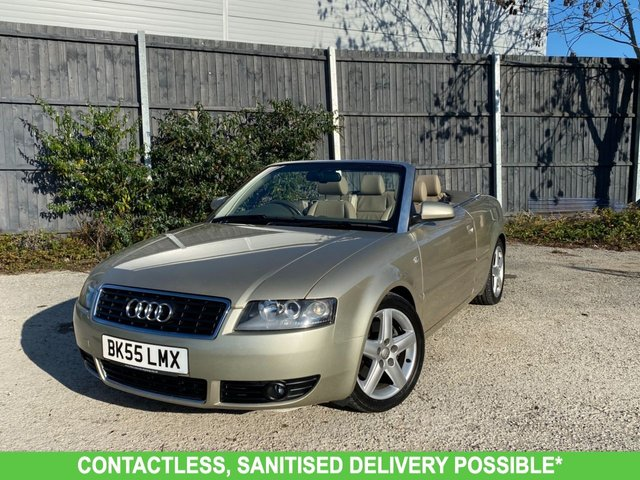 USED 2005 55 AUDI A4 3.0 SPORT 2d 217 BHP 1 OWNER, MANY EXTRAS, FINANCE ME TODAY-UK DELIVERY POSSIBLE