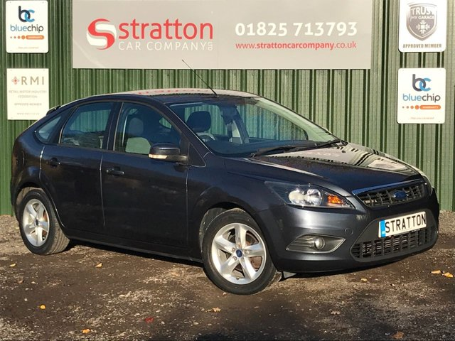 USED 2010 10 FORD FOCUS 1.6 ZETEC 5d 100 BHP AUTOMATIC ONLY 28155 MILES