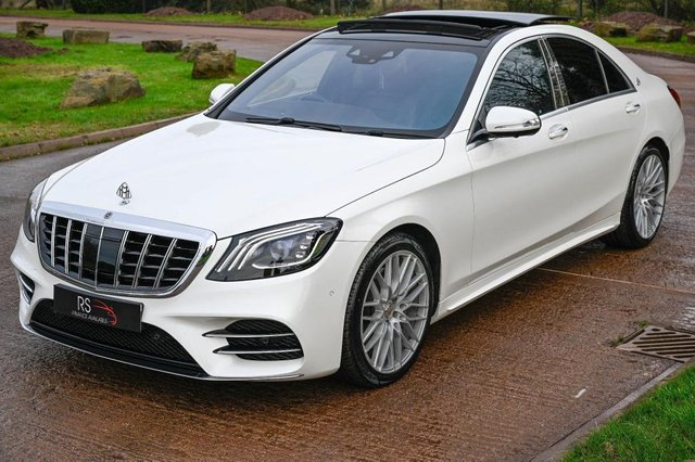 USED 2018 18 MERCEDES-BENZ S-CLASS 3.0 S350d AMG Line (Premium Plus) G-Tronic+ (s/s) 4dr HEAD UP DISPLAY+CAM.+PAN ROOF