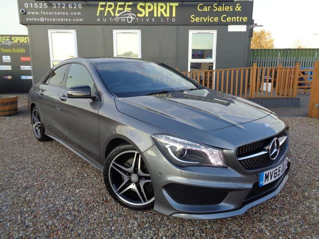 USED 2015 65 MERCEDES-BENZ CLA 2.1 CLA220 AMG Sport 7G-DCT (s/s) 4dr Full Mercedes History, 1 Owner