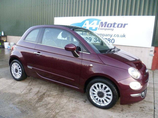 2016 66 FIAT 500 0.9 TwinAir Lounge (s/s) 3dr