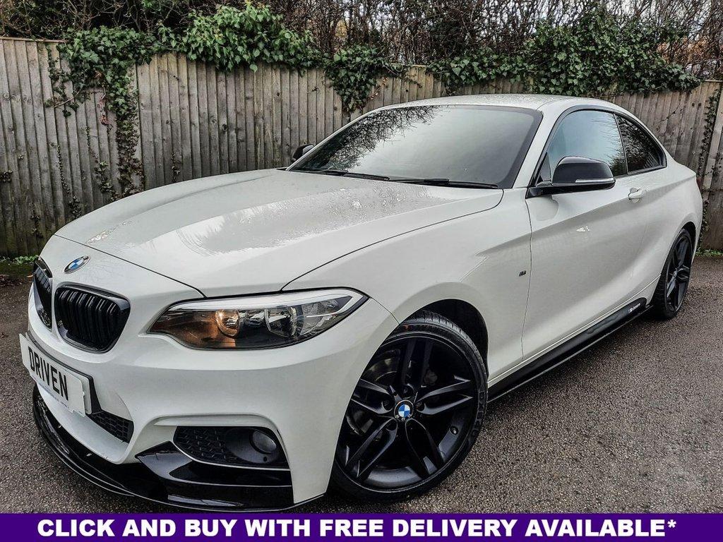 USED 2015 65 BMW 2 SERIES 2.0 218D M SPORT 2d 148 BHP
