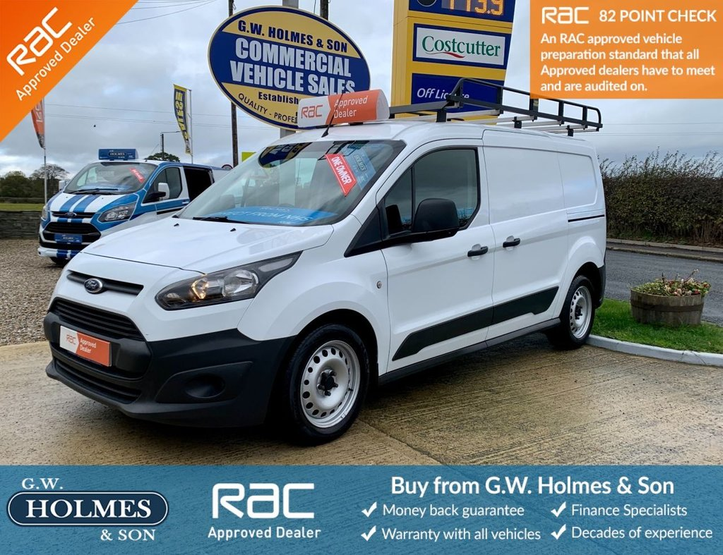 USED 2015 65 FORD TRANSIT CONNECT  CREW CAB DCIV 1.6 TDCI 95 BHP 230 L2 H1 WITH A/C **DIRECT NHS**FFSH**