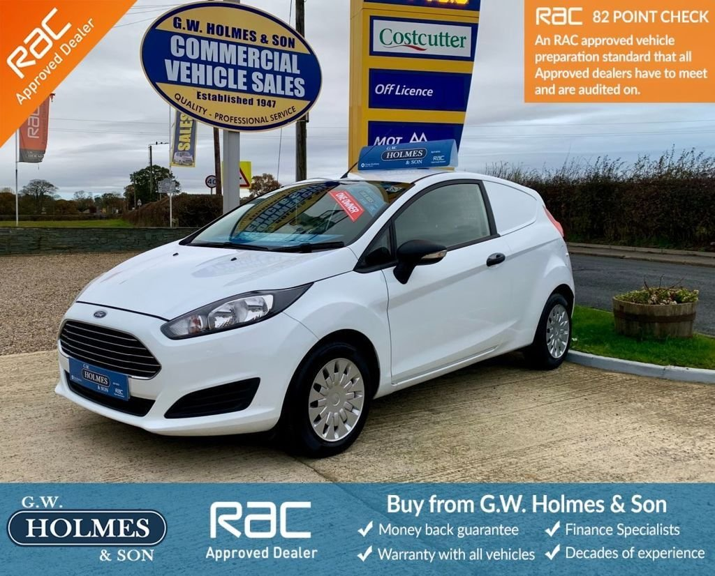 USED 2014 64 FORD FIESTA VAN 1.6 TDCI 95 BHP WITH A/C**DIRECT BT FLEET**ONLY 33K**