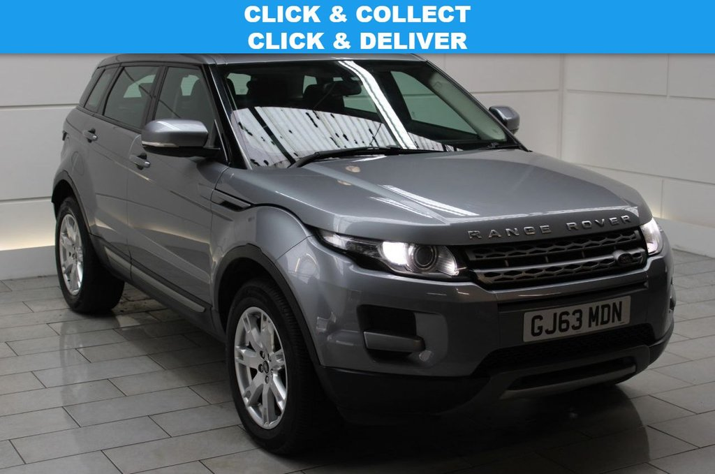 USED 2013 63 LAND ROVER RANGE ROVER EVOQUE 2.2 SD4 Pure [190]