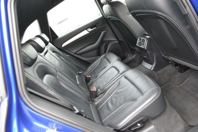 USED 2015 E AUDI Q5 3.0 SQ5 TDI QUATTRO 5d 309 BHP ~ SEPANG BLUE ~ HEATED LEATHER ~ 20