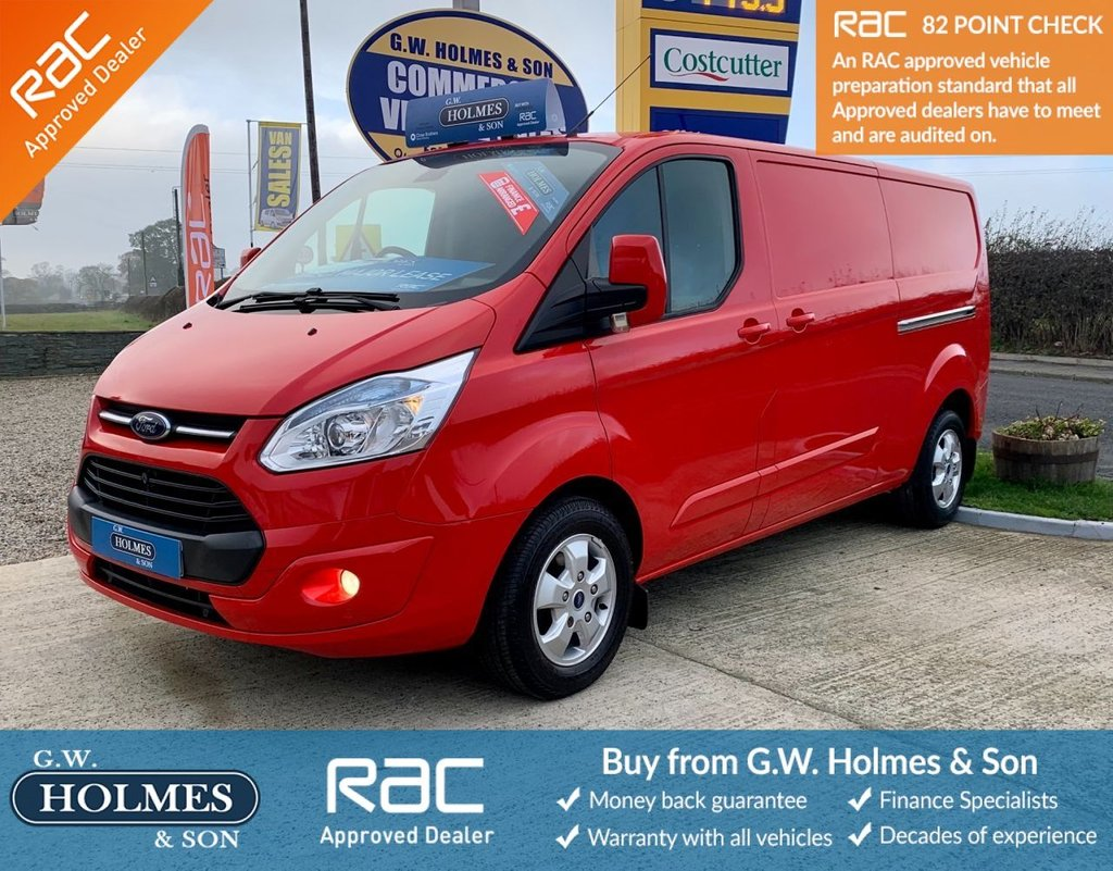 USED 2016 16 FORD TRANSIT CUSTOM LIMITED 2.2 TDCI 125 BHP 290 L2 H1 **LWB**DIRECT MAJOR LEASE**ONLY 40K**FSH**