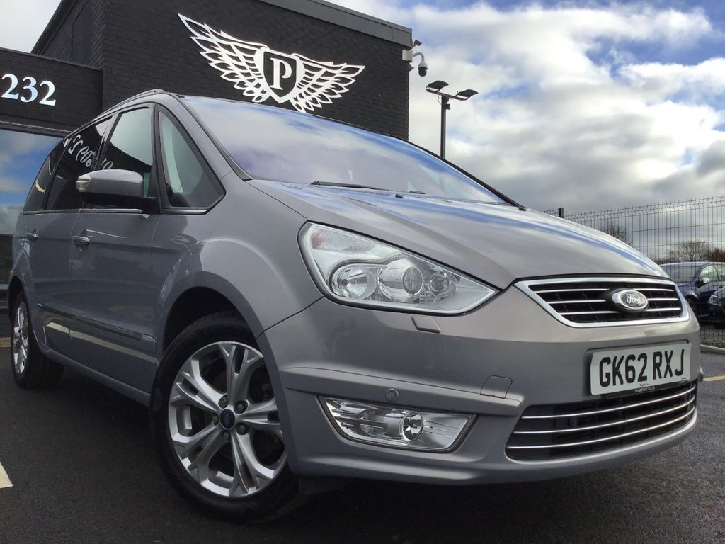 USED 2012 62 FORD GALAXY 1.6 TITANIUM X TDCI 5d 115 BHP NEW DMF & CLUTCH FITTED + FSH+ PANORAMIC ROOF+ LEATHER SEATS