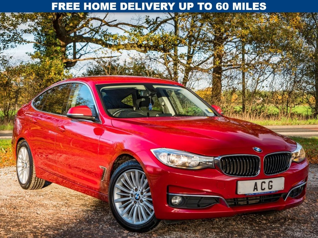 USED 2013 63 BMW 3 SERIES 2.0 320D LUXURY GRAN TURISMO 5d 181 BHP