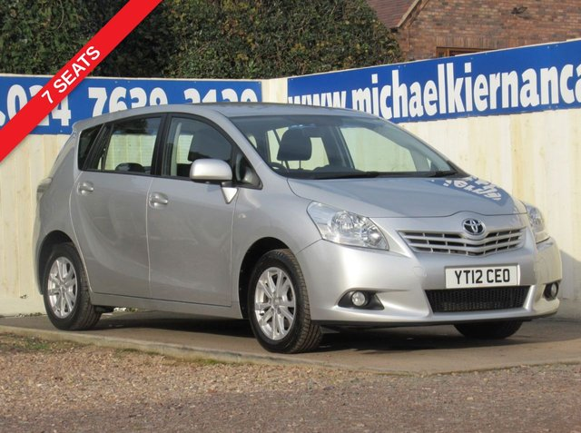 USED 2012 12 TOYOTA VERSO 2.0 TR D-4D  5d 125 BHP FULL TOYOTA SERVICE HISTORY
