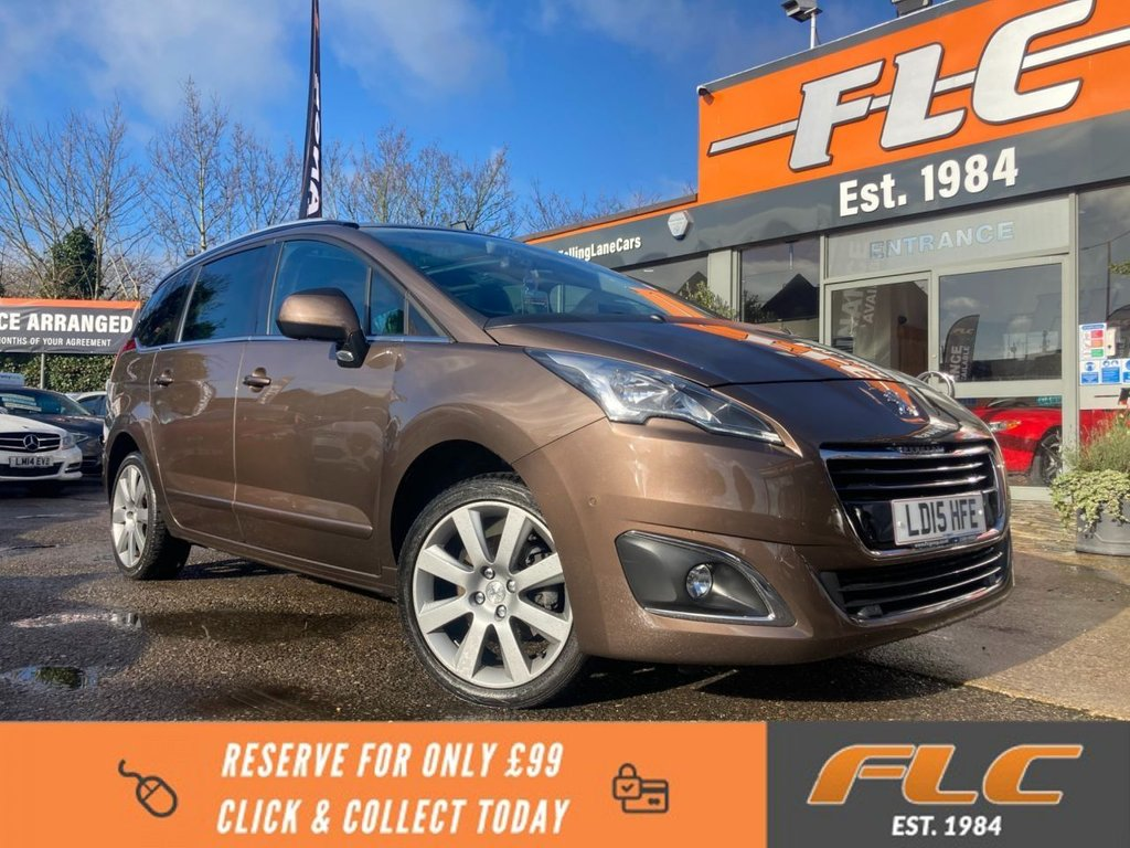 USED 2015 15 PEUGEOT 5008 1.6 BLUE HDI S/S ALLURE 5d 120 BHP