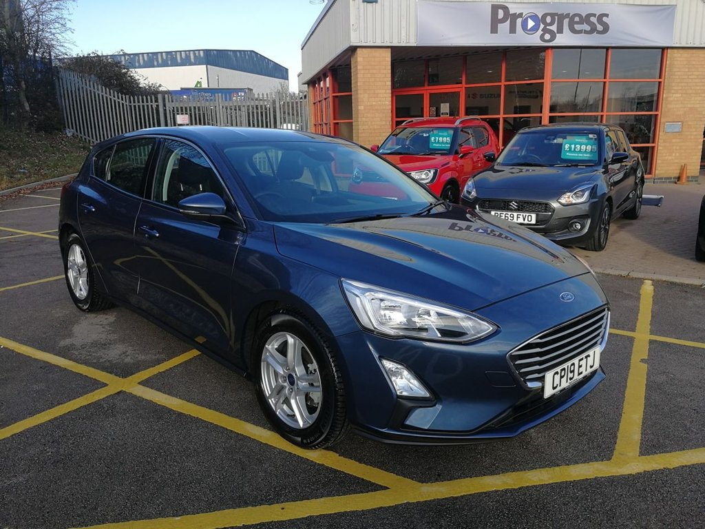 USED 2019 19 FORD FOCUS 1.0 ZETEC 5d 124 BHP WOW LOW MILES!