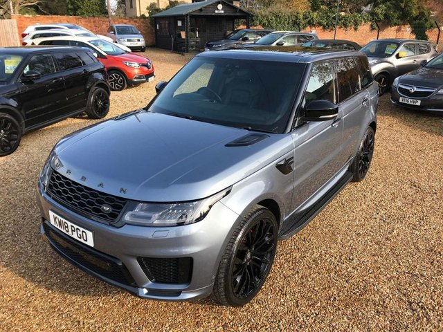 USED 2018 18 LAND ROVER RANGE ROVER SPORT 3.0 SD V6 Autobiography Dynamic Auto 4WD (s/s) 5dr Fully Loaded + Urban Pack