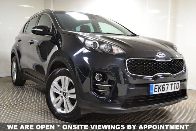 USED 2017 67 KIA SPORTAGE 1.6 2 ISG 5d 130 BHP **SPEICAL OFFER-2 YEARS FREE SERVICING WITH THIS CAR**
