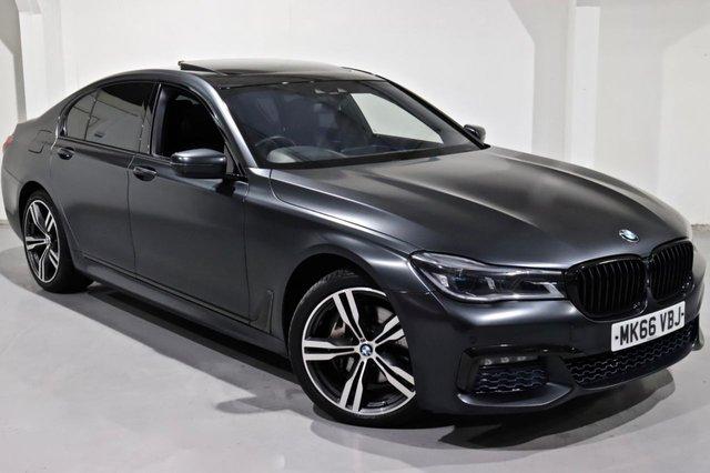 2016 66 BMW 7 SERIES 3.0 740D XDRIVE M SPORT 4d 315 BHP
