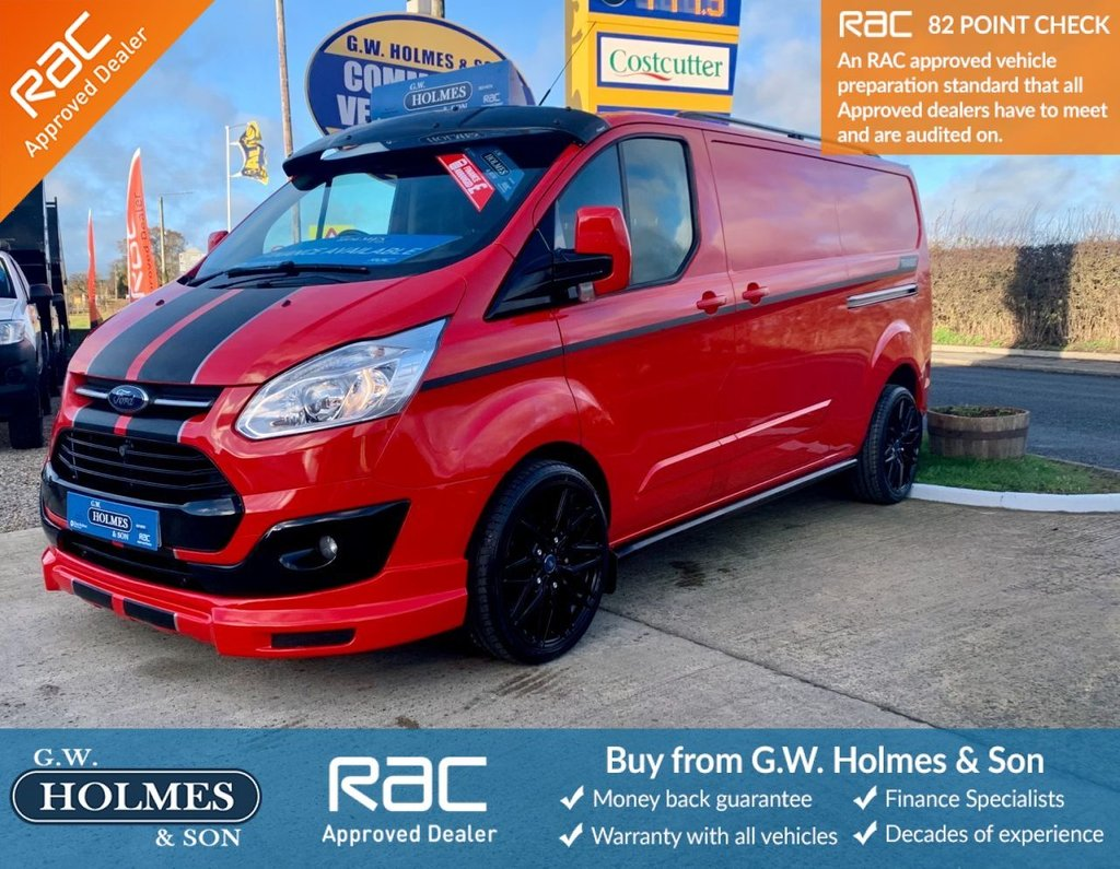 USED 2016 66 FORD TRANSIT CUSTOM TREND 2.0 TDCI 340 130 BHP L2 H1 **SPORTS PACK**MUST SEE**