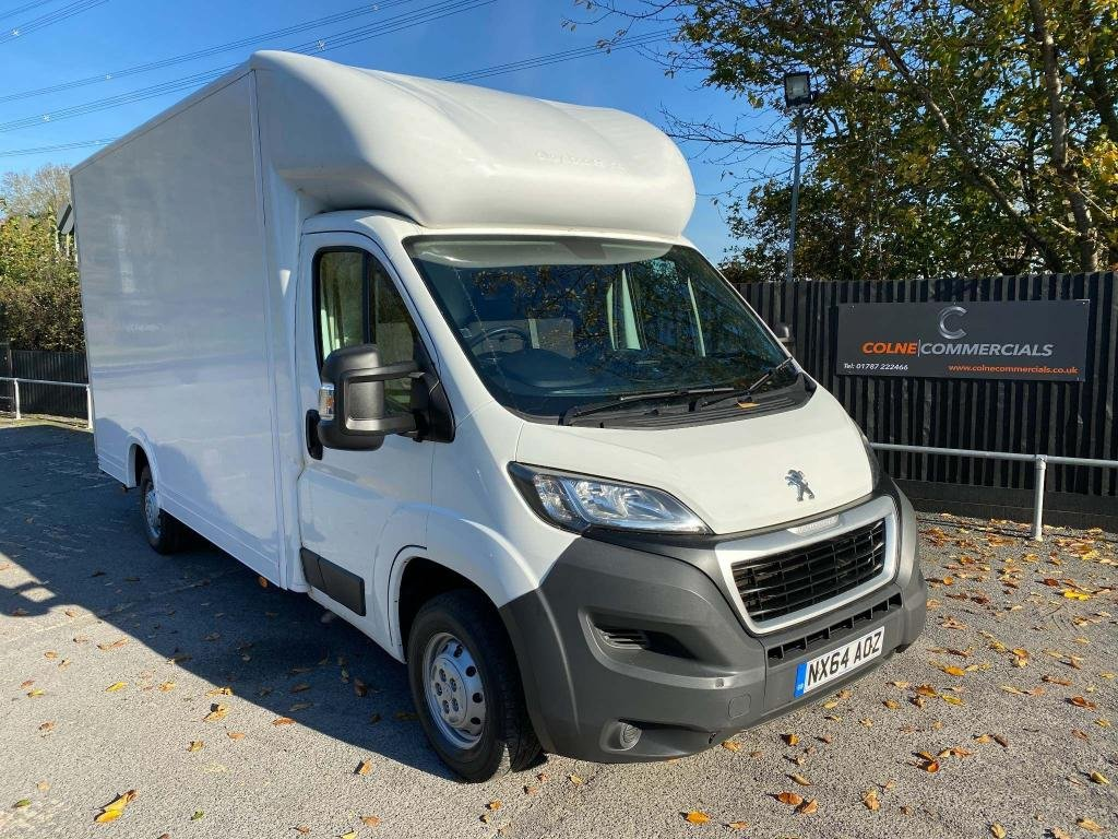 USED 2014 64 PEUGEOT BOXER 2.2HDI LUTON (130 PS) **GREAT VALUE LUTON VAN**