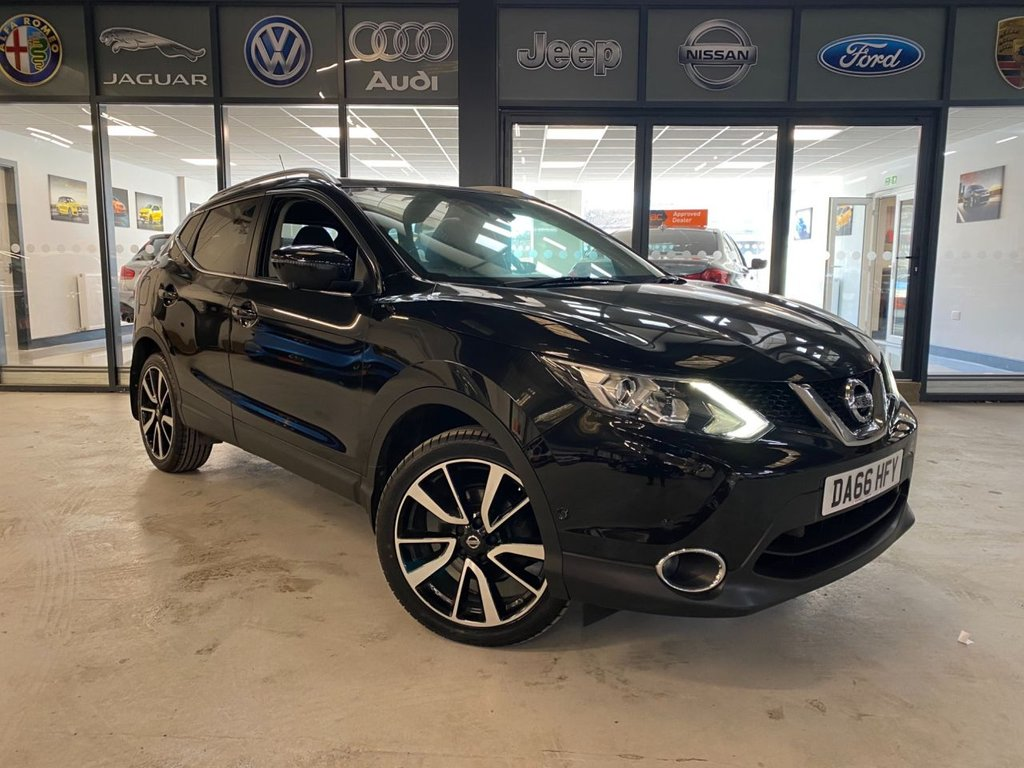 USED 2016 66 NISSAN QASHQAI 1.2 DIG-T Tekna 5dr Complementary 12 Months RAC Warranty and 12 Months RAC Breakdown Cover Also Receive a Full MOT With All Advisory Work Completed, Fresh Engine Service and RAC Multipoint Check Before Collection/Delivery