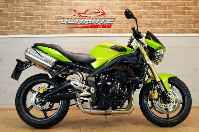 USED 2007 57 TRIUMPH STREET TRIPLE 675 - FREE NATIONWIDE DELIVERY