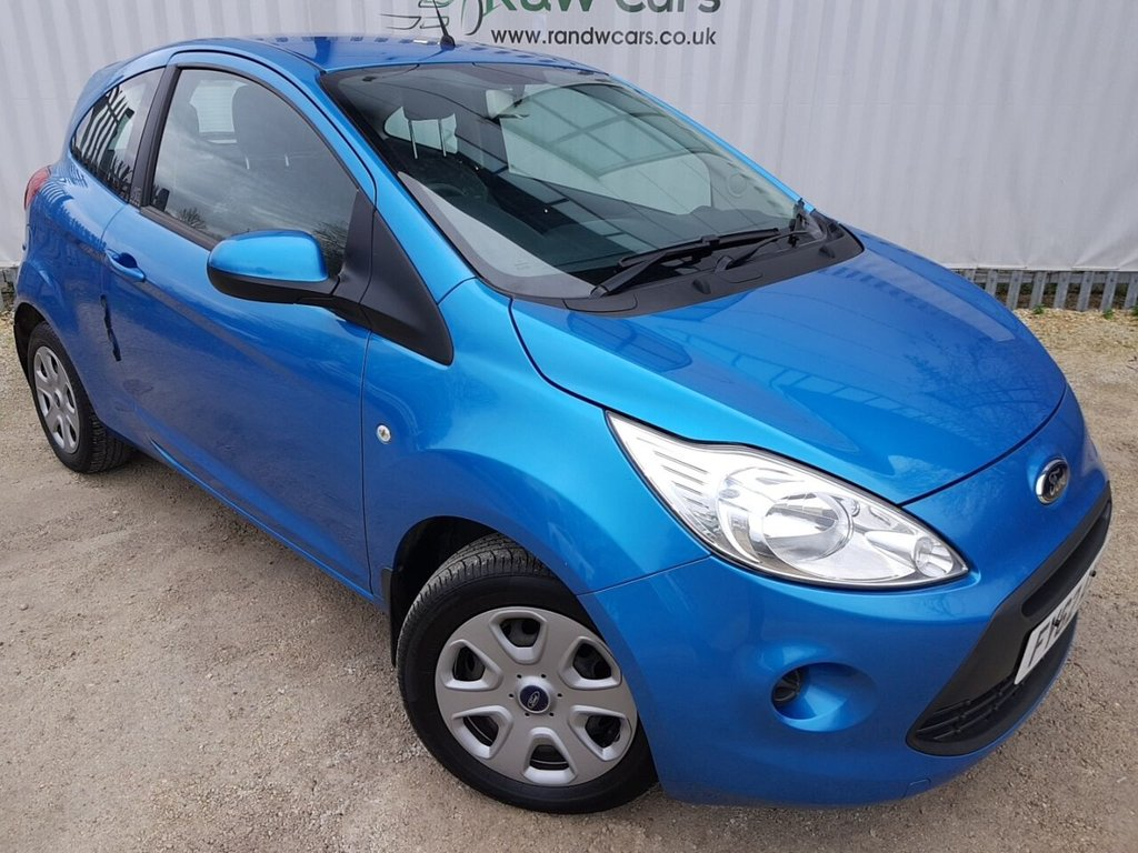 USED 2012 62 FORD KA 1.2 EDGE 3d 69 BHP **LIVE VIDEO WALK AROUND AVAILABLE**