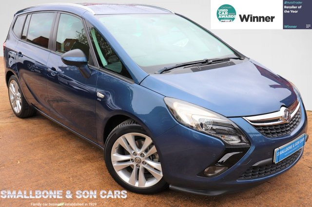 USED 2015 65 VAUXHALL ZAFIRA TOURER 1.4 SRI 5d 138 BHP * BUY ONLINE * FREE NATIONWIDE DELIVERY *