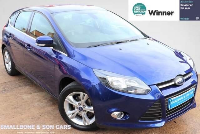 USED 2013 63 FORD FOCUS 1.6 ZETEC 5d 104 BHP * BUY ONLINE * FREE NATIONWIDE DELIVERY *