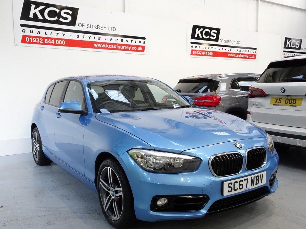 USED 2017 67 BMW 1 SERIES 2.0 118D SPORT 5d 147 BHP SAT NAV - BLUETOOTH - DAB