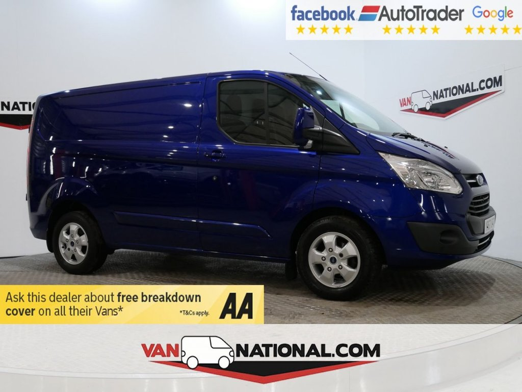 USED 2017 67 FORD TRANSIT CUSTOM 2.0 270 LIMITED LR P/V 130 BHP *AIR CON * EURO 6* * ONE OWNER * EURO 6 * AIR CON * ZERO DEPOSIT FINANCE AVAILABLE *