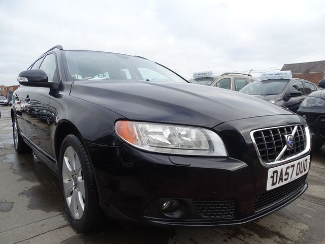 USED 2008 57 VOLVO V70 2.4 D5 SE 5d 183 BHP HIGH SPEC CAR