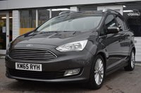 USED 2015 65 FORD GRAND C-MAX 1.0 TITANIUM 5d 124 BHP AVAILABLE FOR ONLY £200 PER MONTH WITH £0 DEPOSIT