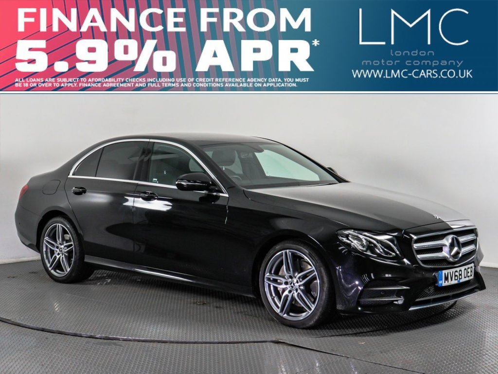 USED 2018 68 MERCEDES-BENZ E-CLASS 2.0 E 220 D AMG LINE 4d AUTO 192 BHP FREE NATIONWIDE DELIVERY*
