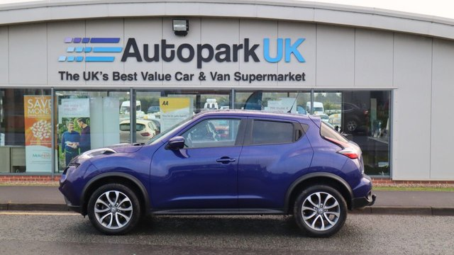 USED 2016 65 NISSAN JUKE 1.5 TEKNA DCI 5d 110 BHP . LOW DEPOSIT OR NO DEPOSIT FINANCE AVAILABLE . COMES USABILITY INSPECTED WITH 30 DAYS USABILITY WARRANTY + LOW COST 12 MONTHS USABILITY WARRANTY AVAILABLE FOR ONLY £199 (DETAILS ON REQUEST). ALWAYS DRIVING DOWN PRICES . BUY WITH CONFIDENCE . OVER 1000 GENUINE GREAT REVIEWS OVER ALL PLATFORMS FROM GOOD HONEST CUSTOMERS YOU CAN TRUST .
