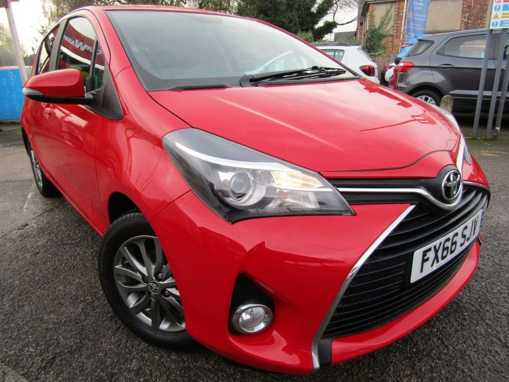 USED 2016 66 TOYOTA YARIS 1.3 VVT-I ICON 5d 99 BHP Full service history ** Immaculate condition ** Free delivery  ** check our feedback  ** Flexible low rate finance ** Part X welcome **12 Mths AA breakdown **Buy locally value checked **