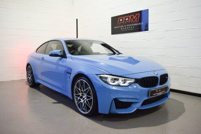 2018 18 BMW M4 3.0 M4 COMPETITION 2d 444 BHP