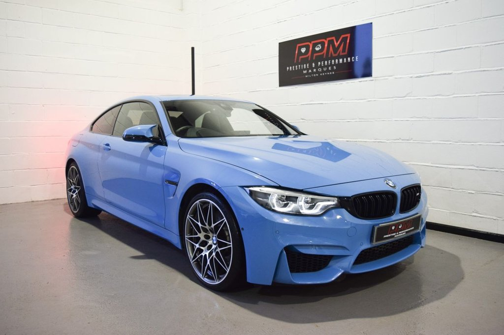 USED 2018 18 BMW M4 3.0 M4 COMPETITION 2d 444 BHP
