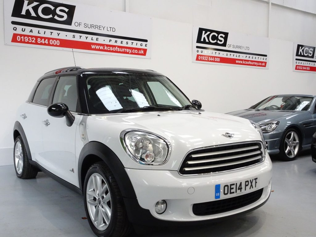 USED 2014 14 MINI COUNTRYMAN 2.0 COOPER D ALL4 5d 110 BHP ALL4 - NAV -PAN ROOF - LEATHER