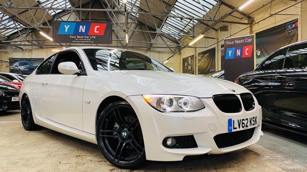 USED 2012 62 BMW 3 SERIES 2.0 320d M Sport 2dr FULLHISTORY+19S+HTDLTHR!+XENON