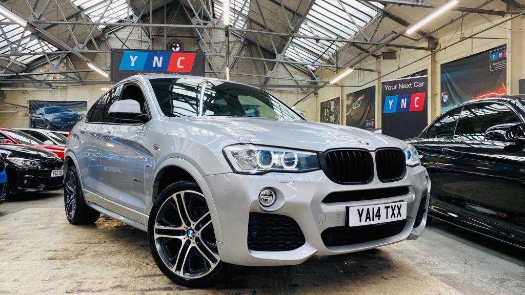 USED 2014 14 BMW X4 3.0 30d M Sport Auto xDrive (s/s) 5dr YNCSTYLING+SROOF+20S+HDDISPLAY