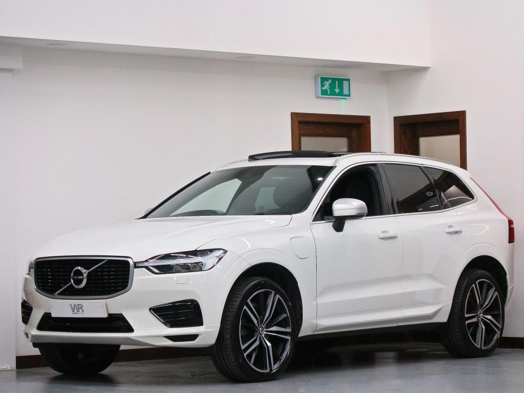 USED 2018 18 VOLVO XC60 2.0h T8 Twin Engine 10.4kWh R-Design Pro Auto AWD (s/s) 5dr PAN ROOF + R/CAM + 21' ALLOYS