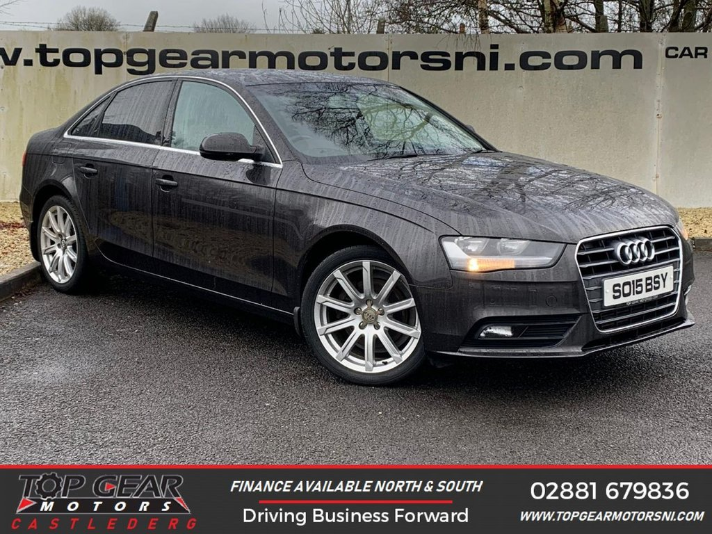 USED 2015 15 AUDI A4 2.0TDI 180BHP SE TECHNIK **HEATED SEATS, SAT NAV, PARKING SENSORS ** FINANCE AVAILABLE - OVER 90 VEHICLES IN STOCK