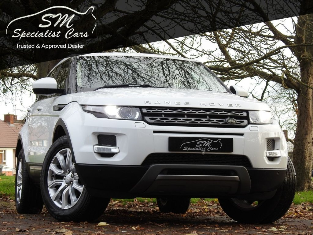 USED 2015 08 LAND ROVER RANGE ROVER EVOQUE 2.2 SD4 PURE TECH 5d 190 BHP ONLY 50K FROM NEW LEATHER A/C
