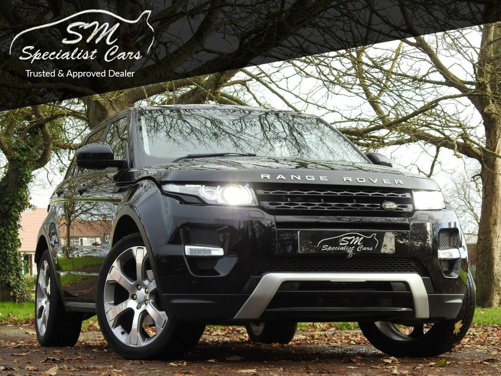 USED 2015 15 LAND ROVER RANGE ROVER EVOQUE 2.2 SD4 DYNAMIC 5d 190 BHP ONLY 71K HUGE SPEC LEATHER VGC