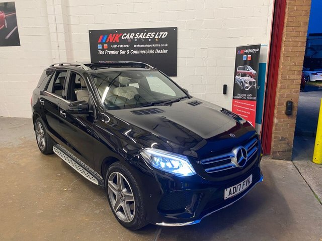 USED 2017 17 MERCEDES-BENZ GLE-CLASS 3.0L GLE 350 D 4MATIC DESIGNO LINE 5d AUTO 255 BHP DESIGNO LEATHER SEATS DIAMOND STITCHED  HEATED AND COOLING SEATS FRONT AND REAR PAN ROOF  PAN ROOF DESIGNO LEATHER TRIM SAT NAV