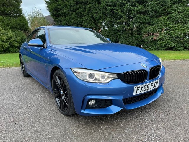 USED 2016 66 BMW 4 SERIES 2.0 420D M SPORT GRAN COUPE 4d 188 BHP