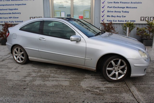 2005 55 MERCEDES-BENZ C-CLASS 2.1 C220 CDI SE SPORTS 3d 148 BHP