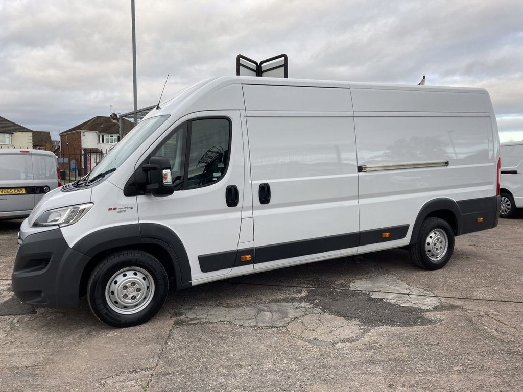 USED 2017 17 FIAT DUCATO 2.3 35 P/V H/R MULTIJET II 129 BHP FREE 6 MONTH WARRANTY INCLUDING RECOVERY AND ASSIST NEW MOT