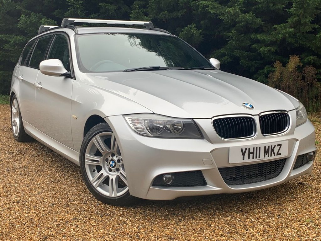 USED 2011 11 BMW 3 SERIES 2.0 320D M SPORT TOURING 5d 181 BHP