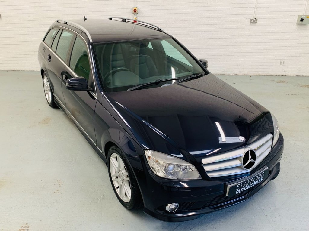 USED 2008 58 MERCEDES-BENZ C-CLASS 2.1 C220 CDI SPORT 5d 168 BHP HEATED LEATHER, SAT NAV, FINANCE AVAILABLE